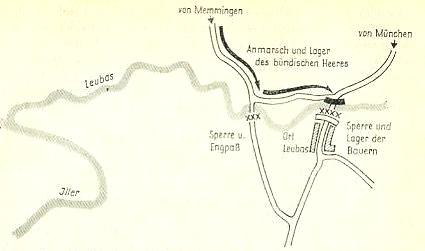 Kanonade an der Leubas am 14.7.1525