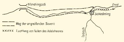 Gefecht bei Schladming am 3.7.1525